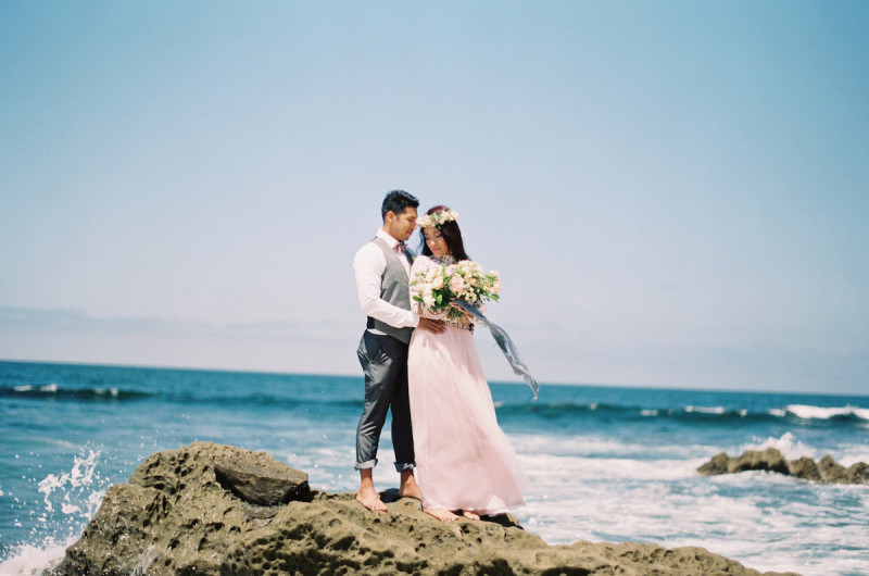 Image for Chic Southern California Beach Styled Elopement