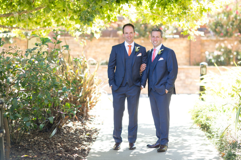 Image for Nick and Conor's Orange and Pink Napa Valley Wedding