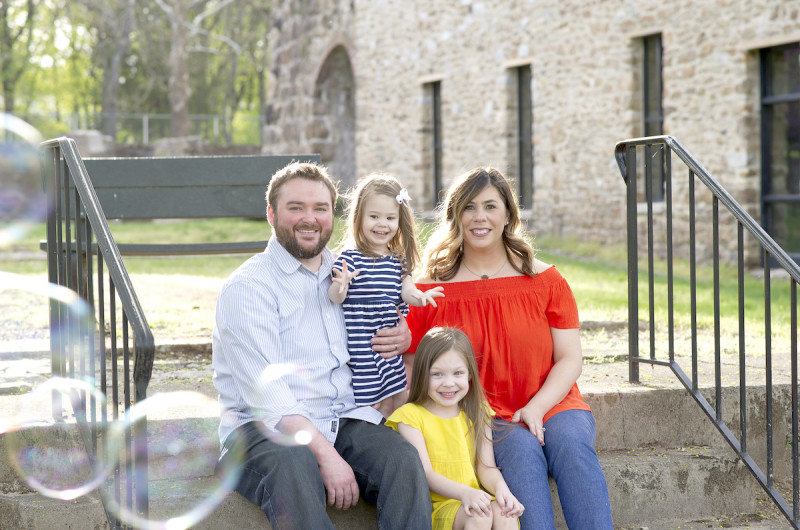 Image for A Bubble-Filled Family Session at Lock Ridge Park and Furnace Museum