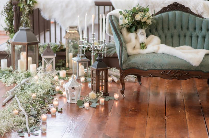 Image for Cozy Winter Wedding Inspiration in the Virginia Countryside