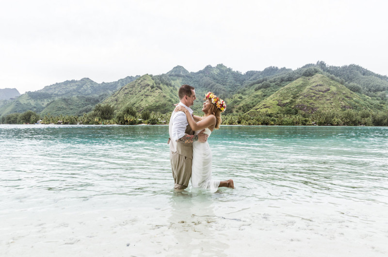 Image for Kerlyn and Tim's Destination Wedding in French Polynesia