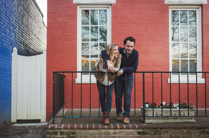 Image for Melissa and Justin's Riverside Richmond Engagement Session
