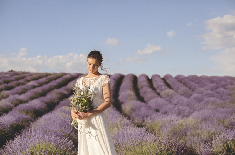 Image for Brunch Wedding Inspiration Among Italy's Lavender Fields