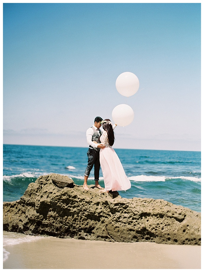 Chic Southern California Beach Styled Elopement Love Inc