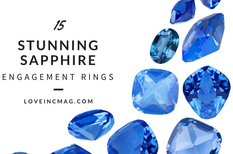 Image for 15 Stunning Sapphire Engagement Rings to Celebrate September's Birthstone
