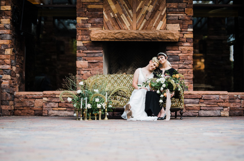 Image for A Modern Styled Elopement in the Desert with Vintage Details