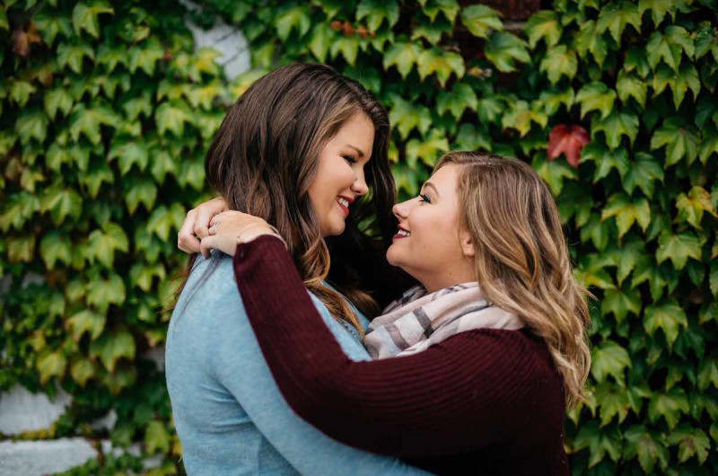 Image for Kenzie and Katie's Benton Harbor Engagement Session