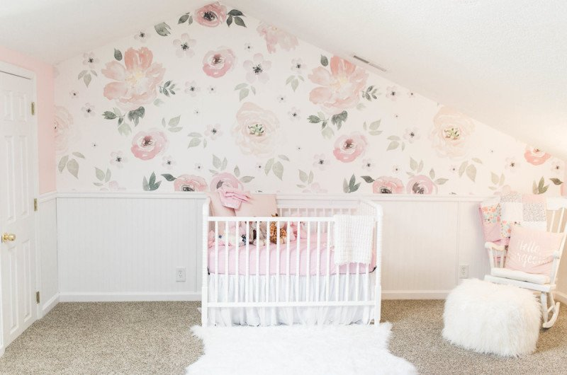 Sawyer S Perfectly Pink And Fl Inspired Nursery Love