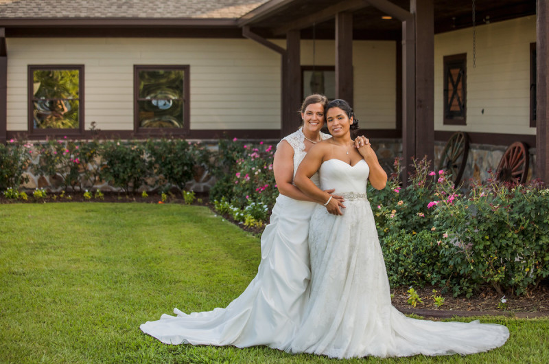 Image for Marina and Katelynn's Rustic Farm Wedding in South Carolina