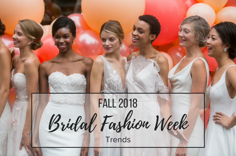 Image for 5 Wedding Dress Trends from Fall 2018 Bridal Fashion Week