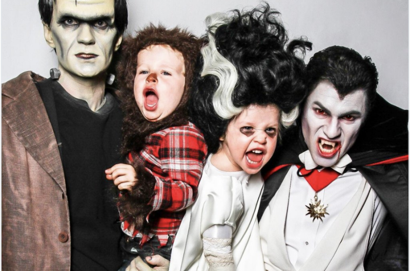 Image for Neil Patrick Harris and David Burtka Reveal Family Costume and Win Halloween (Again)