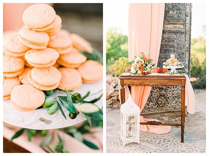 peach-wedding-macarons-heike-moellers-photography