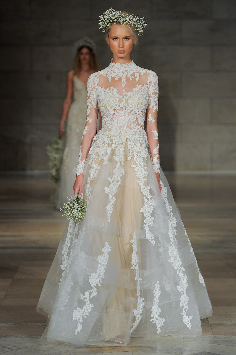 Reem Acra, Bridal Fall 2018, New York City, October 2017
