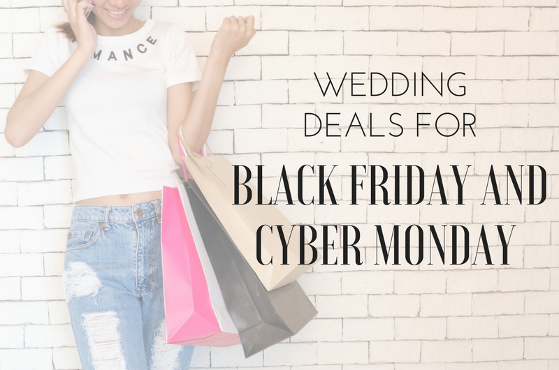 Image for 13 Amazing Black Friday and Cyber Monday Wedding Deals