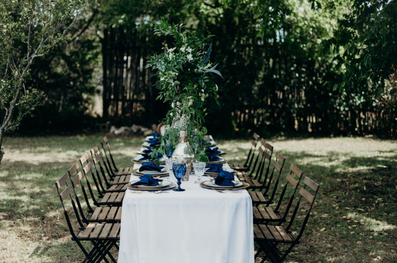 Image for A Something Blue Themed Bridal Shower Inspiration Shoot