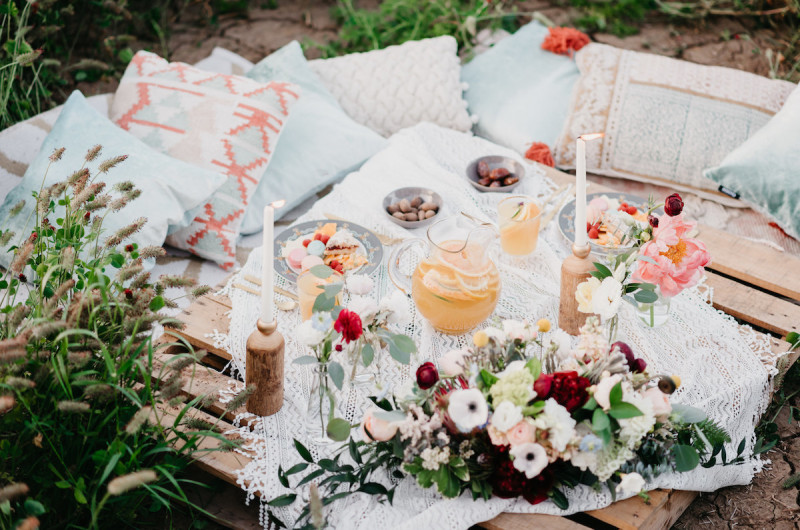 Image for A Dreamy Boho Chic Styled Engagement Shoot