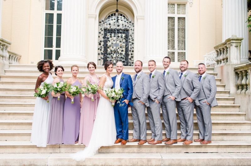 Image for Travis and Kate's Sunny and Romantic Baltimore Wedding