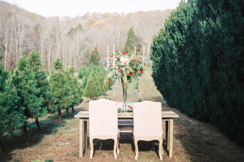 Image for A Festive Red and Green Holiday Wedding Inspiration Shoot