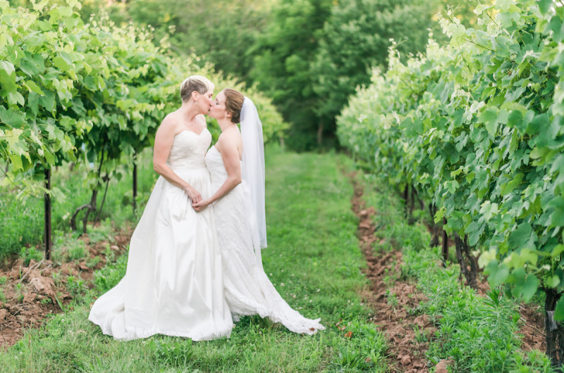 Image for Lisa and Joey's Joy-Filled Maryland Farm Wedding