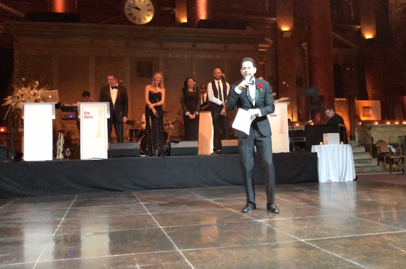 Image for Best Man Performs Hamilton-Inspired Wedding Speech [VIDEO]