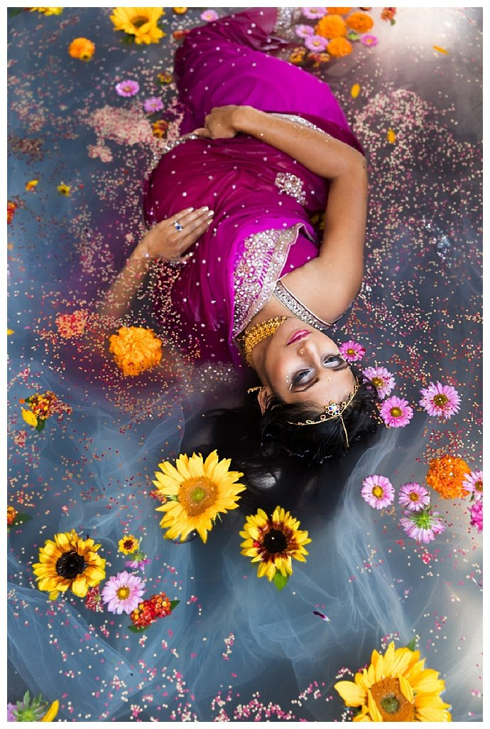 indian-flower-bath-maternity-session-juniper-spring-photography