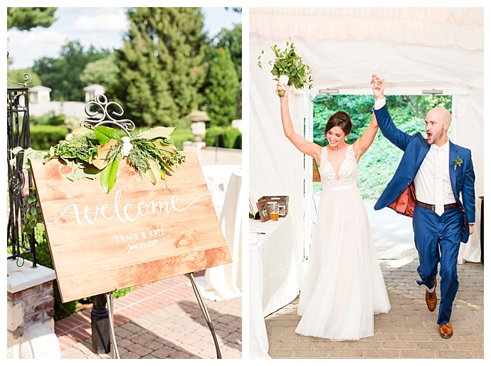 rustic-wedding-welcome-sign-bethanne-arthur-photography