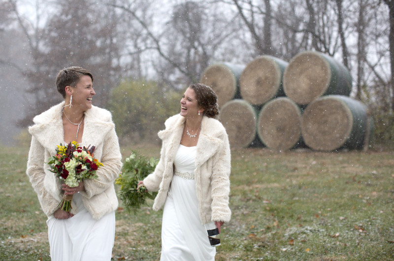 Winter wedding style inspiration from real weddings love inc image for winter wedding style inspiration from real weddings junglespirit Image collections