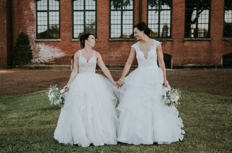 Image for Stephanie and Amanda's Rustic and Elegant North Carolina Wedding