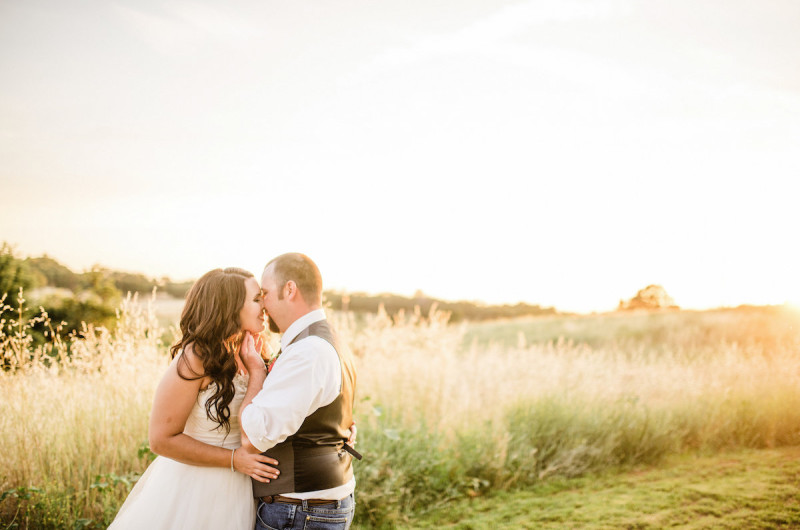 Image for Chelsea and Nick's Rustic Chic Backyard Barbecue Wedding
