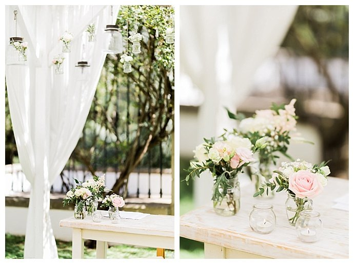 hanging-mason-jar-ceremony-decor-passionate-wedding-photography