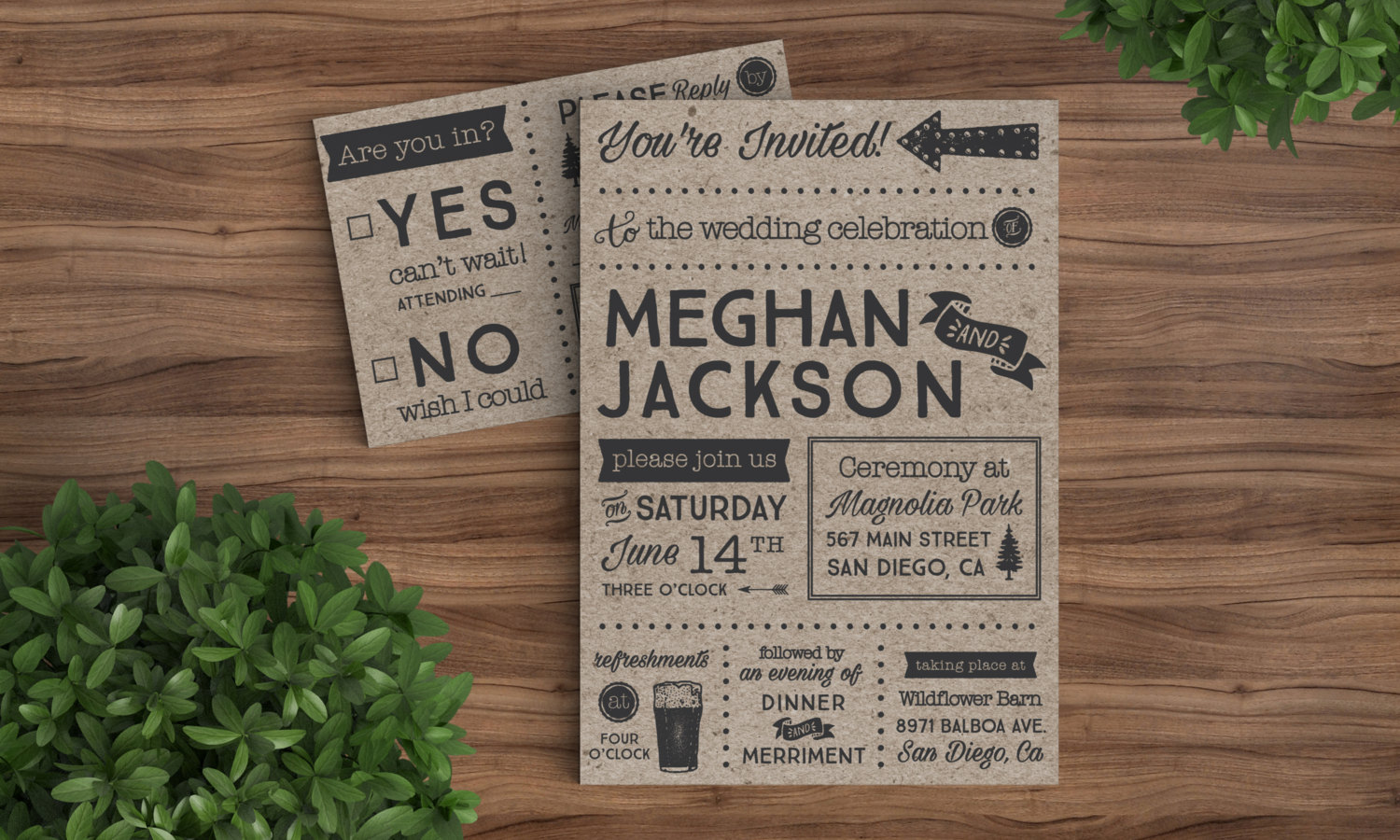 mixed-font-modern-wedding-invitation