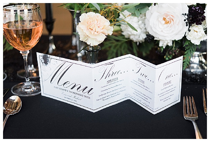 new-years-eve-wedding-menu-alicia-king-photography