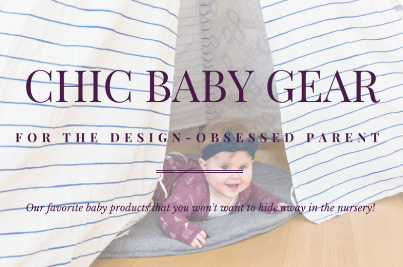 Image for Chic Baby Gear for the Design-Obsessed