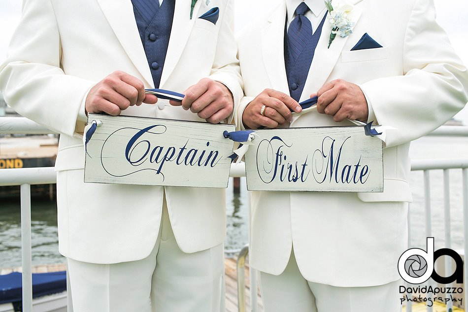 captain-and-first-mate-nautical-wedding-chair-signs