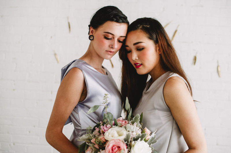 Image for An Intimate Styled Elopement with Mesmerizing Metallic Details