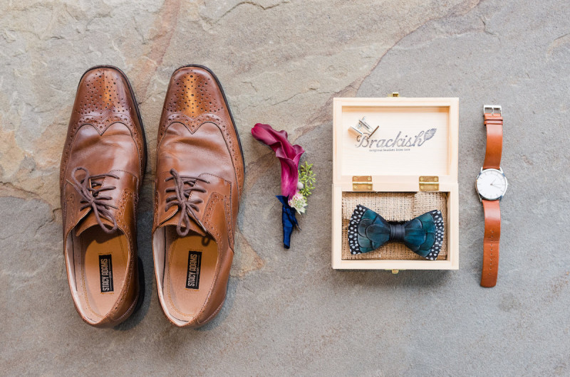 Image for We're Loving These Feather Bow Ties That are a Wearable Work of Art