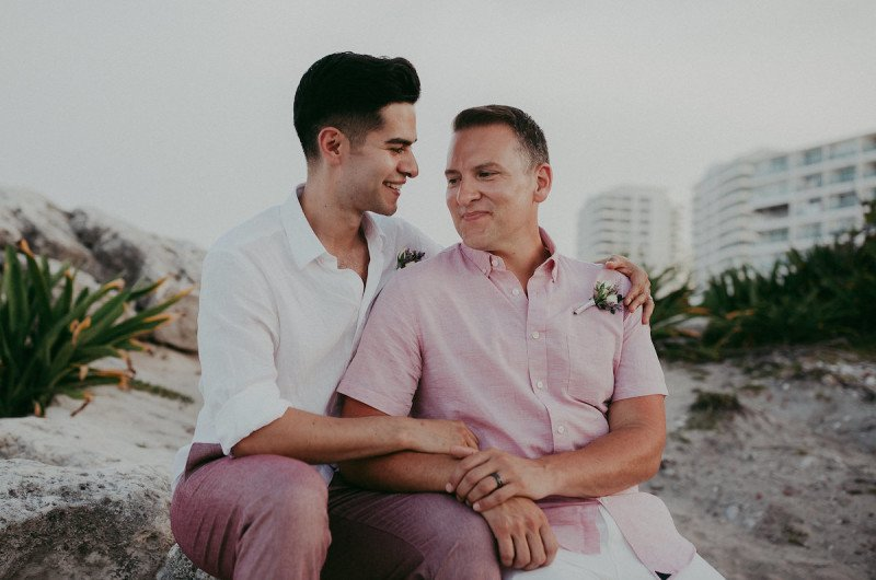 Image for Brian and Joey's Destination Wedding on a Cancun Beach