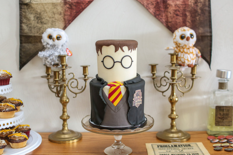 Image for Wesley's Colorful Harry Potter Themed Birthday Party