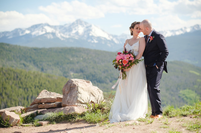Image for Stunning Vail Mountain Styled Shoot with a Surprise Vow Renewal