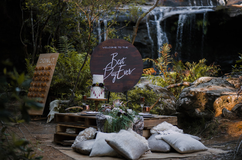 Image for A Bohemian Wedding Inspiration Shoot in the Australian Rainforest