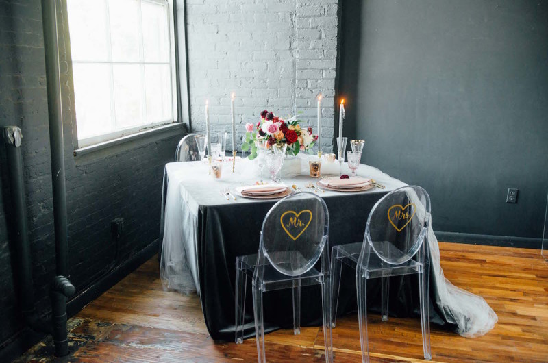 Image for Luxurious Velvet Valentine's Day Wedding Inspiration
