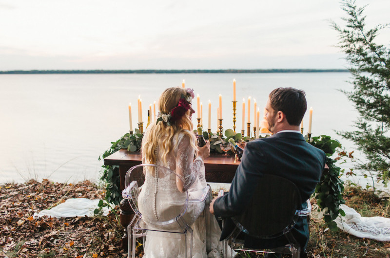 Image for An Intimate Boho Styled Elopement Along the Potomac River