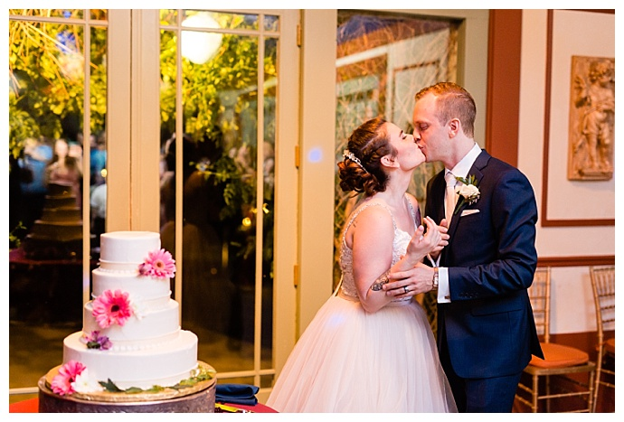 four-tiered-white-wedding-cake-casey-fatchett-photography