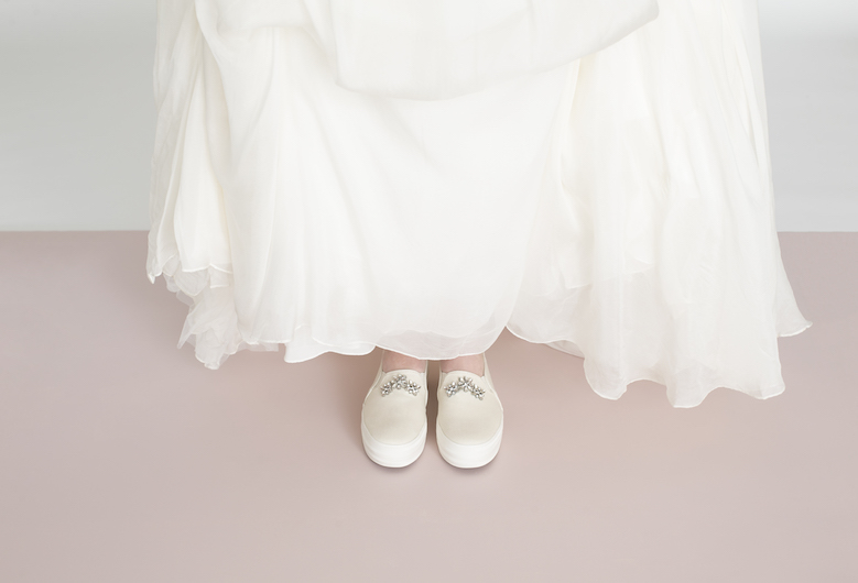 Keds and Kate Spade Bridal Shoe Collection