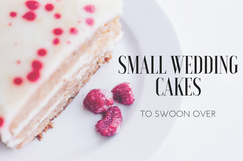 Image for Small in Size, Big in Style: 15 Small Wedding Cakes to Swoon Over