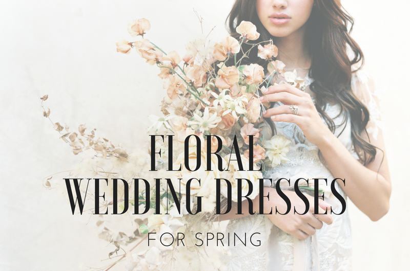 Image for 15 Floral Wedding Dresses Fit for a Spring Wedding