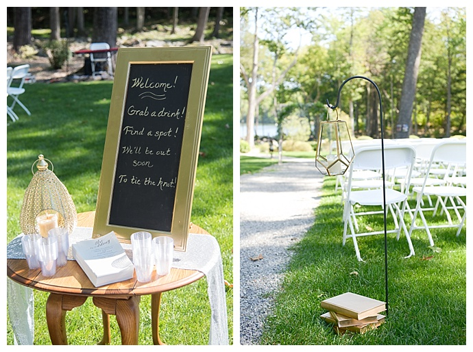 ceremony-welcome-sign-dani-fine-photography