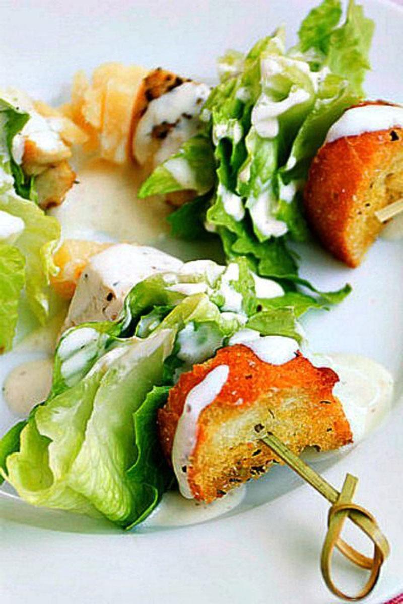 chicken-caesar-salad-on-a-stick