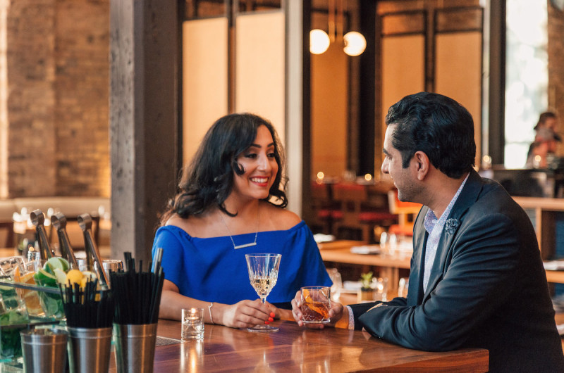 Image for Rishi and Sonia's Chicago Waterfront Engagement Session