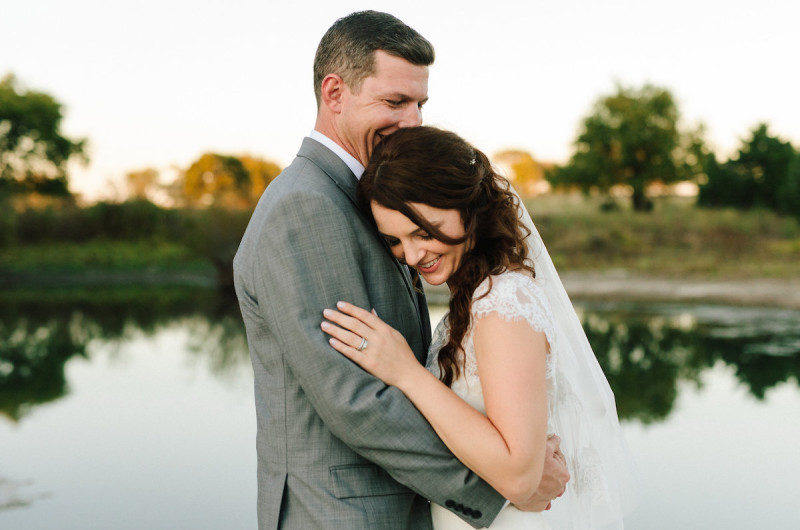 Image for Samantha and Connor's DIY Artistic Texas Countryside Wedding